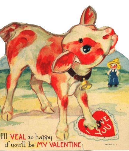 Vegan llustratus – Animal Valentine Cards