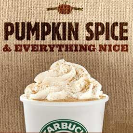 Image result for starbucks pumpkin spice