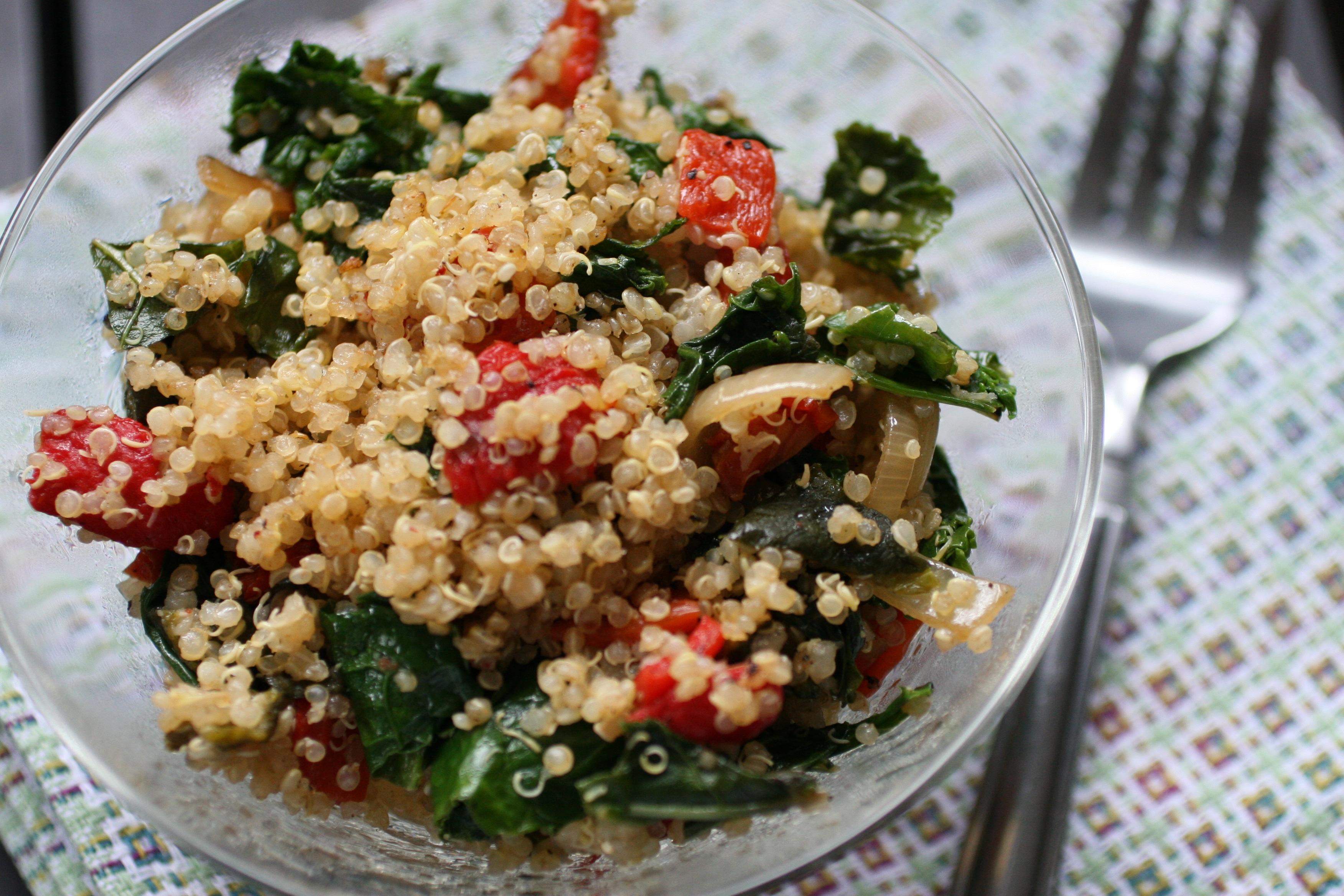 Roasted Pepper Quinoa
