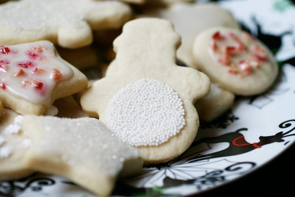 Vegan Sugar Cut-Out Cookies Recipe | Your Daily Vegan