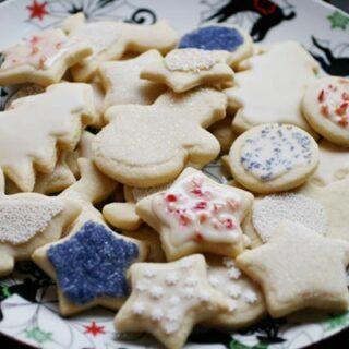 Vegan Sugar Cut-Out Cookies Recipe | Your Daily Vegan