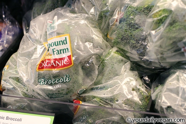 vegan walmart organic broccoli