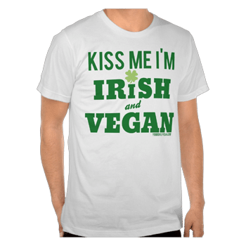 Vegan St. Patrick's Day Tshirt | Your Daily Vegan