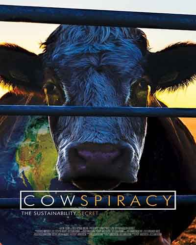 Cover for the film, Cowspiracy.