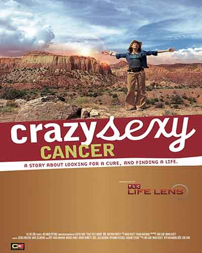 Cover for the film, Crazy Sexy Cancer.