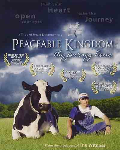 Cover for the film, Peaceable Kingdom.