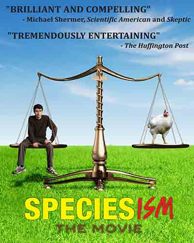 Cover for the film Speciesism the Movie.