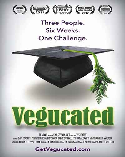 Cover for the film Vegucated.