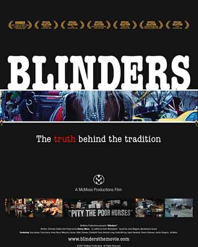 Cover for the film, Blinders.