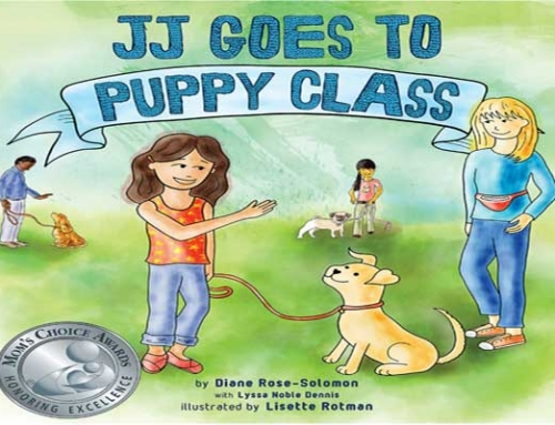 Teachable Moments + Giveaway: JJ Goes to Puppy Class