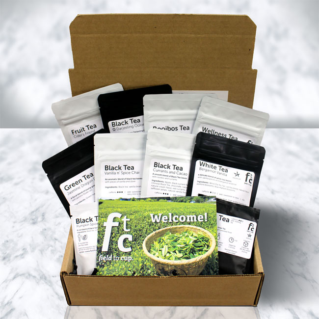 Field to Cup Tea Explorer Subscription | Vegan Coffee & Tea Gift Guide 2017 | Your Daily Vegan