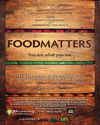 Cover for the film, Food Matters.