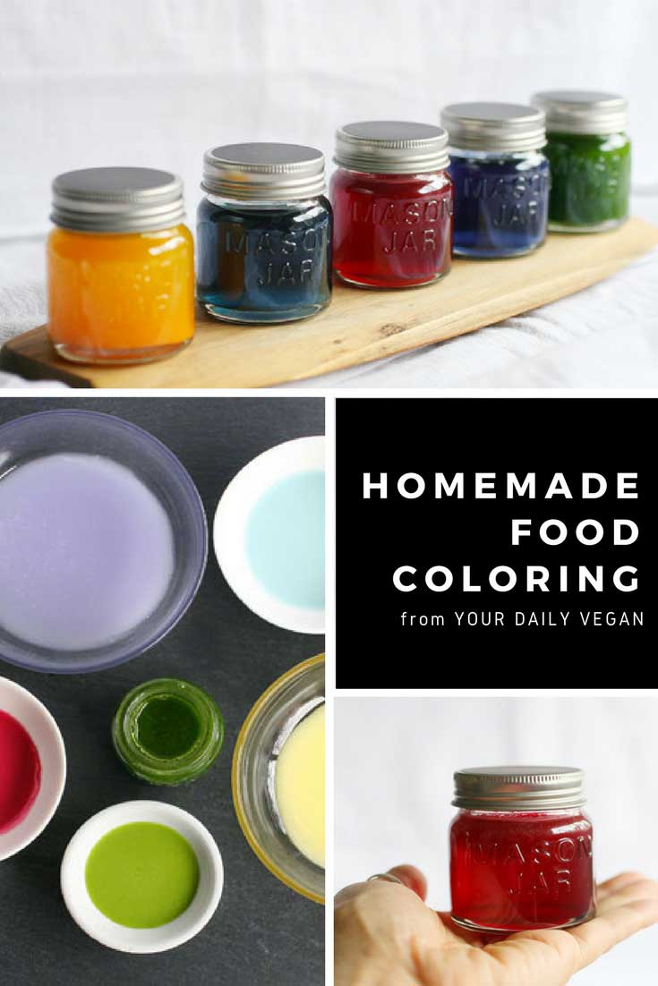 Homemade Food Coloring Tutorial | Your Daily Vegan