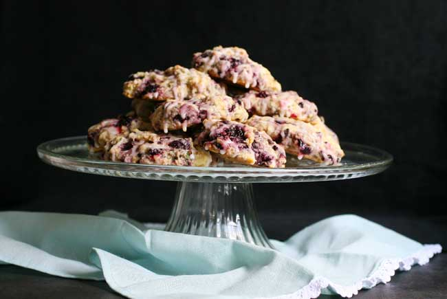 Vegan Black Raspberry & Sage Scone Recipe | Your Daily Vegan