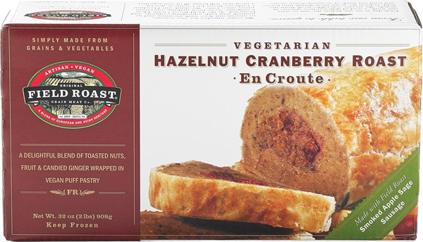 Field Roast Hazelnut Cranberry Roast En Croute | Best Vegan Meat Alternatives for Thanksgiving | Your Daily Vegan