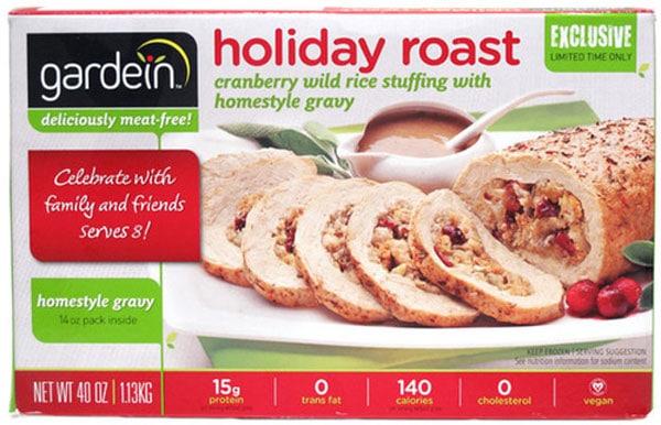 Gardein Holiday Roast | Best Vegan Meat Alternatives for Thanksgiving | Your Daily Vegan