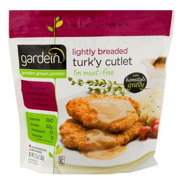 Gardein Turk'y Cutlets | Best Vegan Meat Alternatives for Thanksgiving | Your Daily Vegan