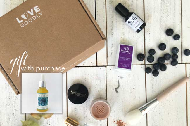 October/November Love Goodly Box + Gift with Purchase | 2017 Vegan Black Friday Deals | Your Daily Vegan