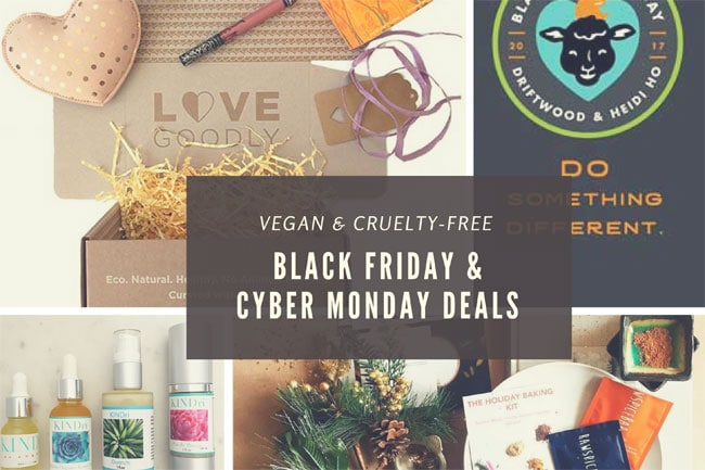 Here Are Your 2017 Vegan Black Friday & Cyber Monday Deals