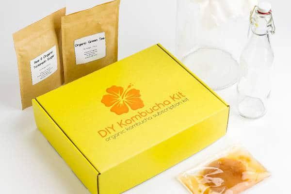 DIY Kombucha Kit - Vegan Subscription Boxes Guide - Your Daily Vegan
