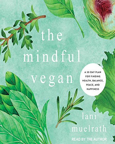 Cover for the book, The Mindful Vegan