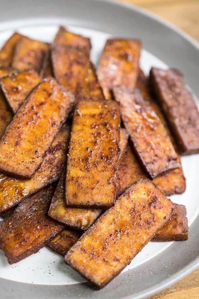 Tofu Bacon recipe by Yup, it's vegan - Vegan Bacon Guide - Your Daily Vegan