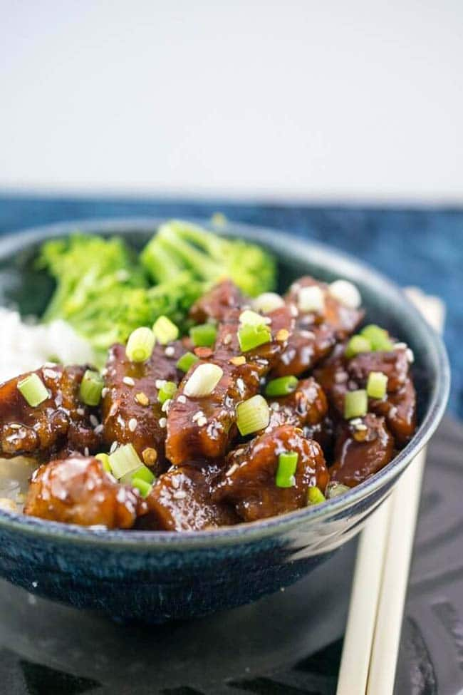 Vegan Mongolian Seitan Recipe by Yup, it's Vegan - Vegan Seitan Guide - Your Daily Vegan