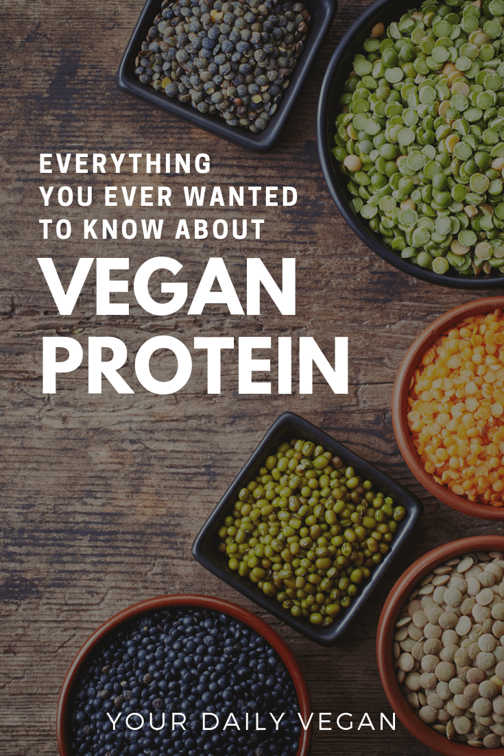 Vegan Protein - Basics, Foods & Nutritional Information - Your Daily Vegan