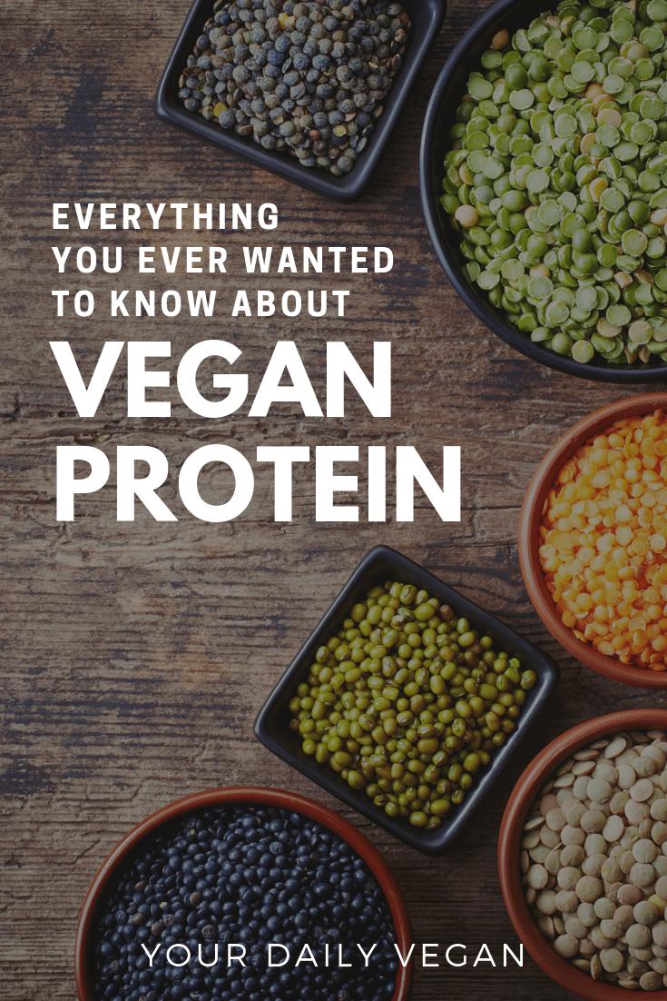 Vegan Protein - Basics, Foods & Nutritional Information - Your Daily Vegan