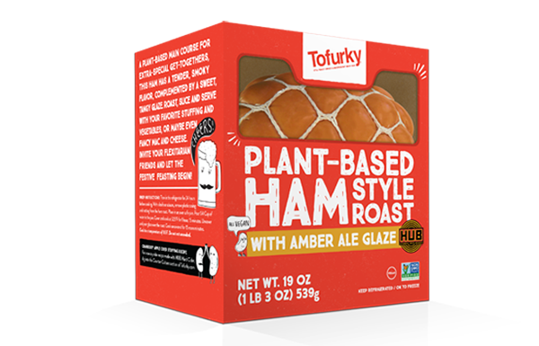 The box for the Tofurky Holiday Ham.