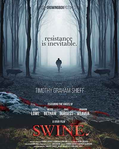 Cover for the film, Swine.