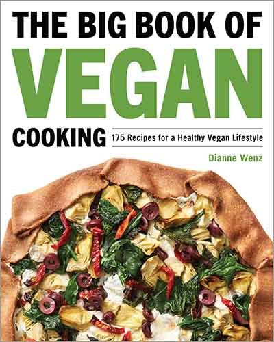 Cover for the book, The Big Book of Vegan Cooking