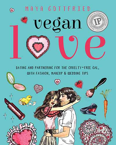 Cover for the book, Vegan Love